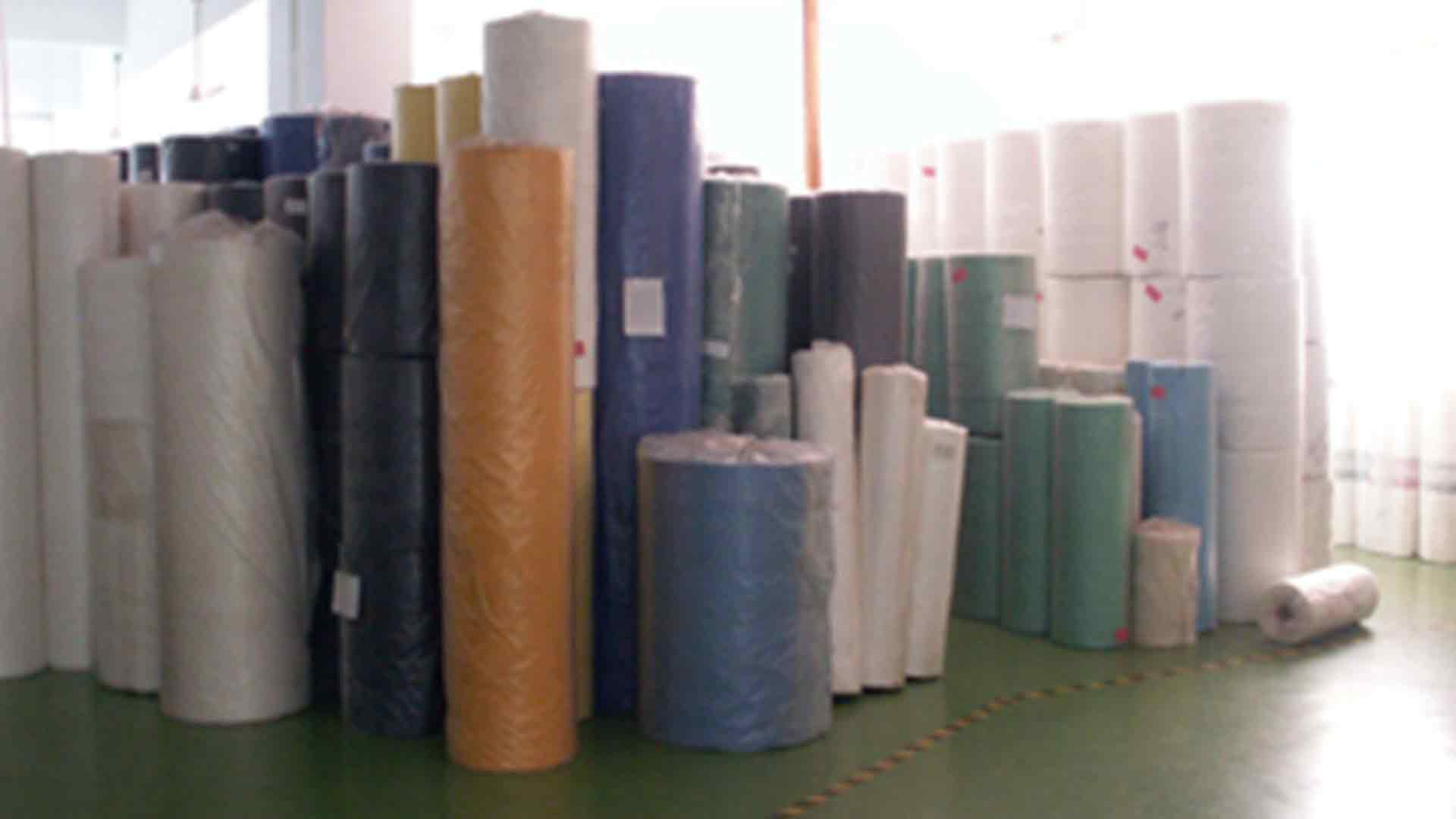 Finished Process of Polyfabric in Rolls